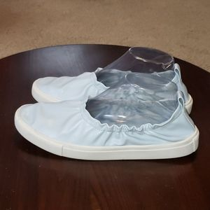 Zara Basic Collection Slip Ons sz 39 Blue Sneakers